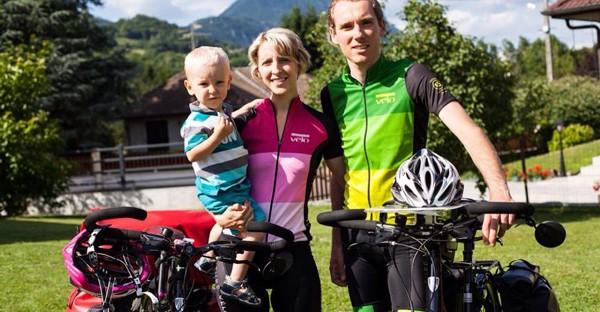 Tour de France en vélo en famille : interview de Catherine et Nicolas.