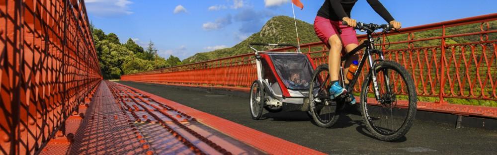 La voie verte du Haut-Languedoc : notre premier voyage à vélo en famille