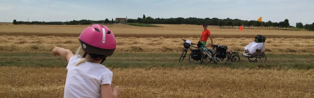 Interview des Graines de Baroudeurs partis pour un tour de France en vélo en famille