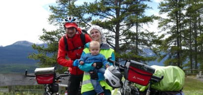 En famille et à vélo sur les pistes du Nouveau Monde : le projet fou d'Olivier, Adeline et Axel