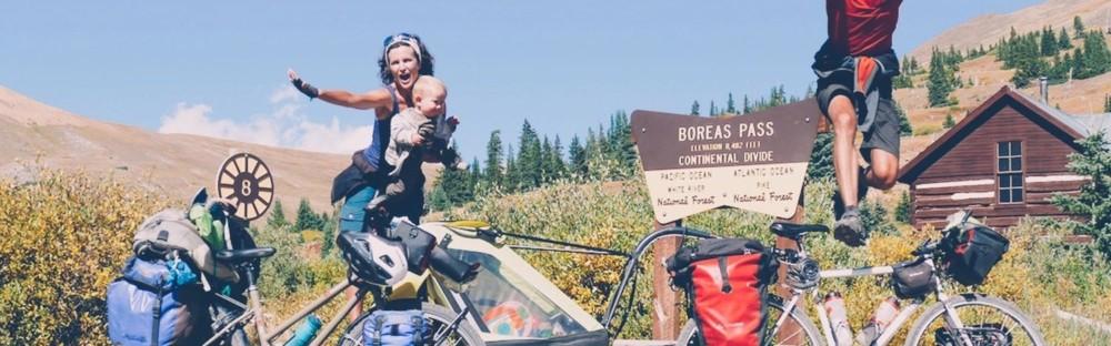 La Great Divide avec bébé : bike road-trip en amérique sur une piste mythique