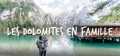 Roadtrip en famille : découverte des Dolomites en van