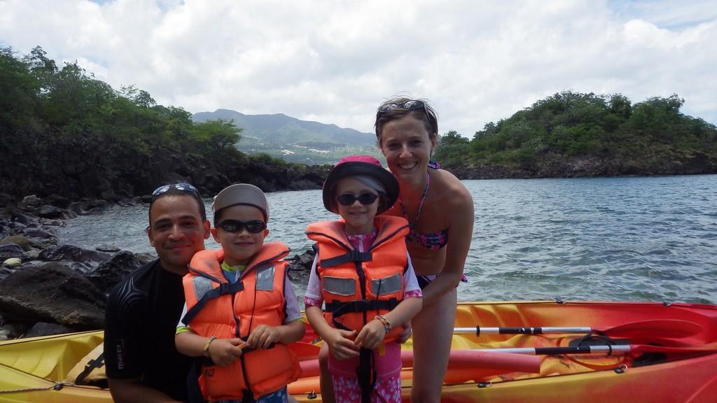 Guadeloupe en famille
