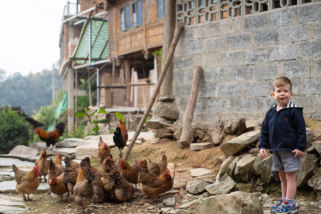 Village de Dazhai en Chine