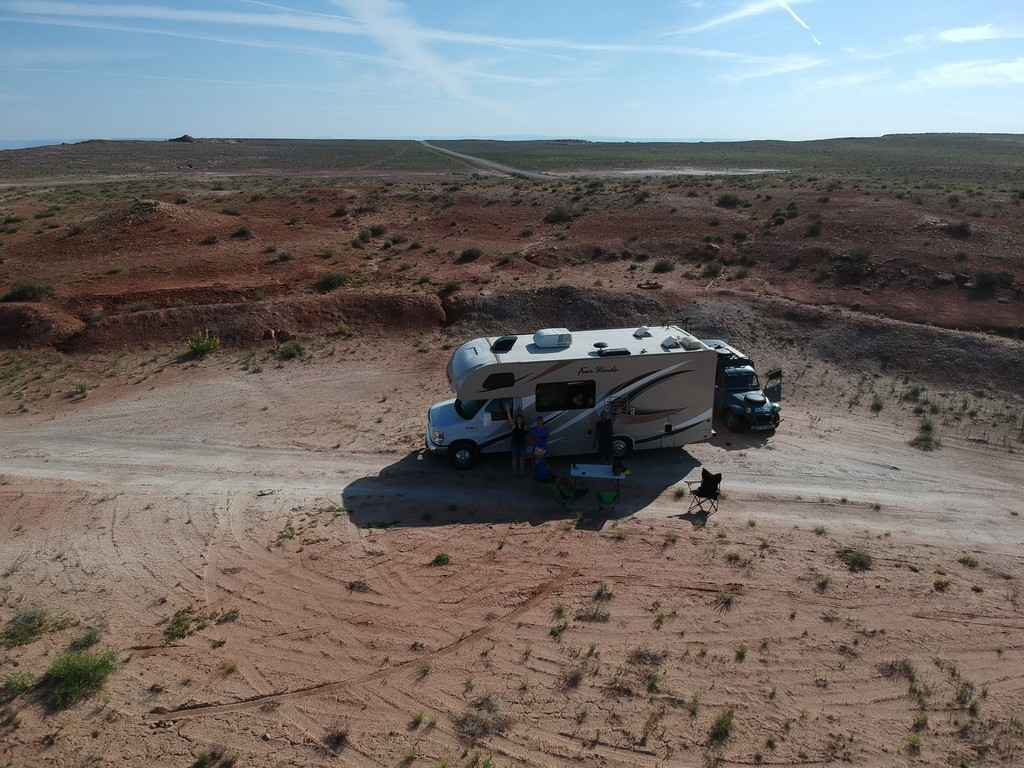 Camping États-Unis
