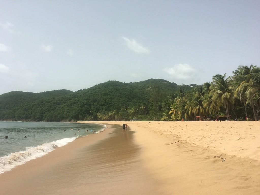 La plage de Deshaies