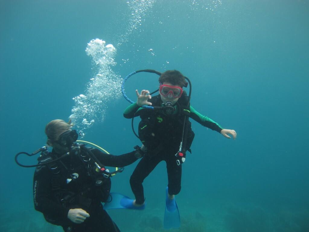 Plongée Guadeloupe avec enfants