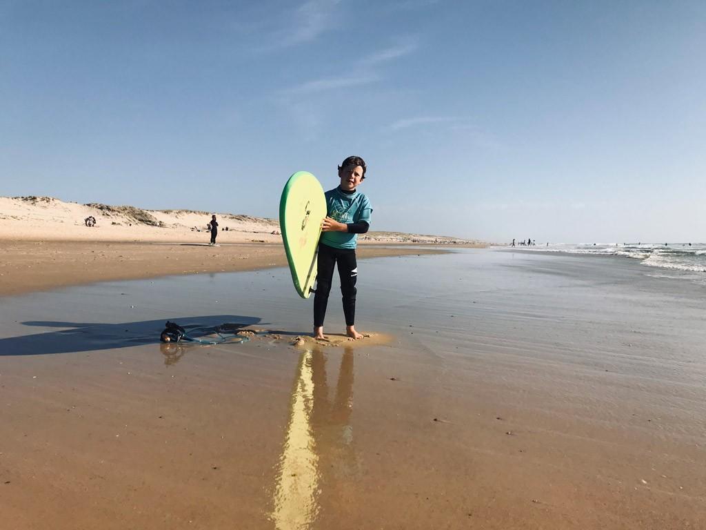 Vacances surf en famille
