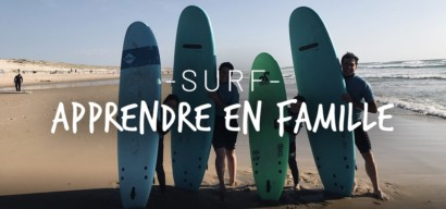 Des vacances surf en famille