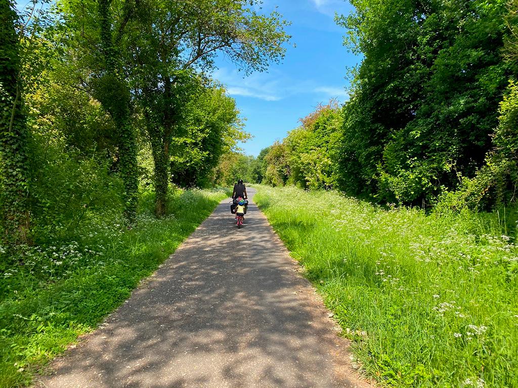 La voie verte London - Paris