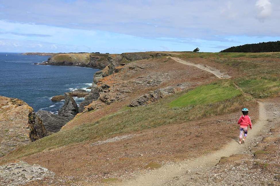 Belle île en Mer à vélo