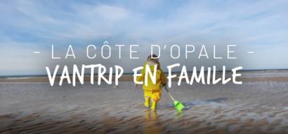 Vantrip sur les plages de la Côte d'Opale