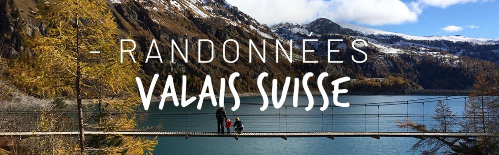 Randonnées Valais Suisse avec des enfants