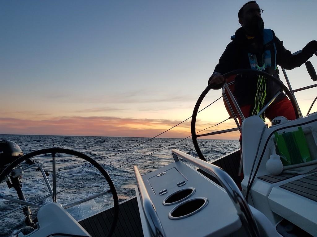 Bretagne sud à bord d'un voilier