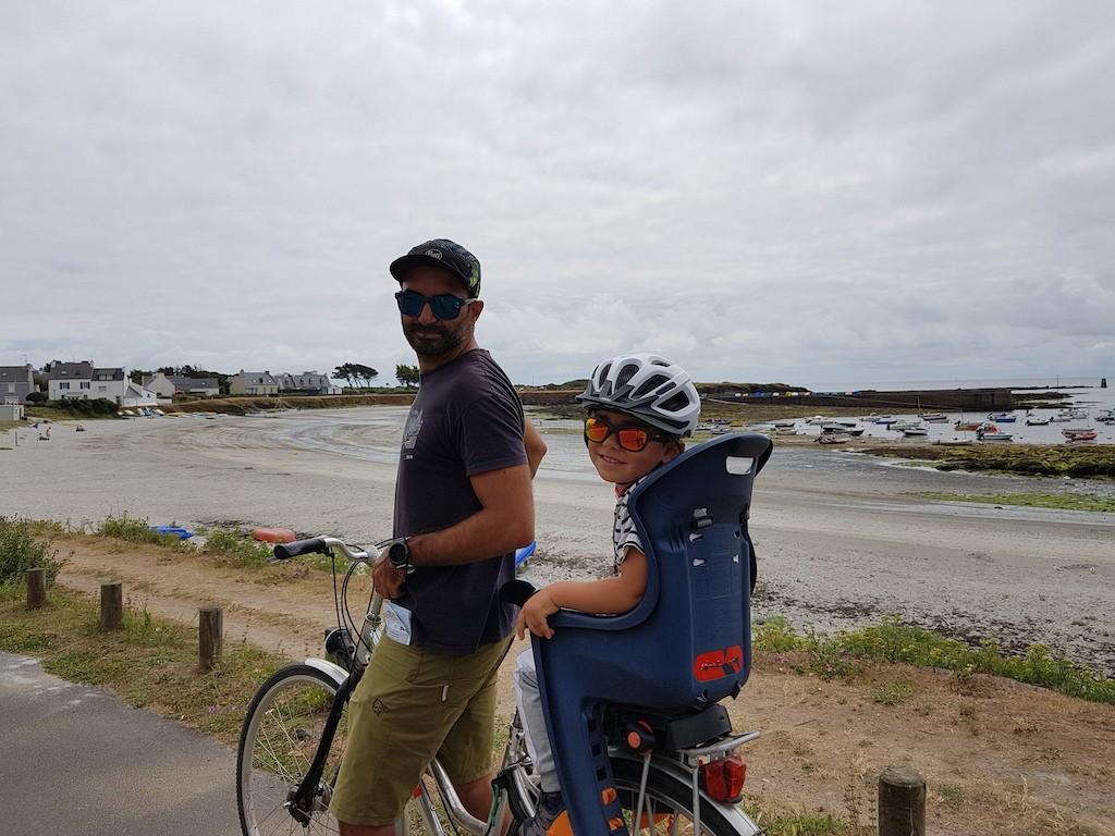 tour de l'île de croix à vélo