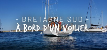 Trois semaines d'itinérance en Bretagne sud à bord d'un voilier