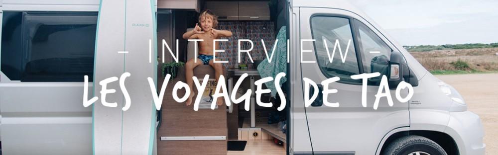 Interview d'une famille adepte de la Van life