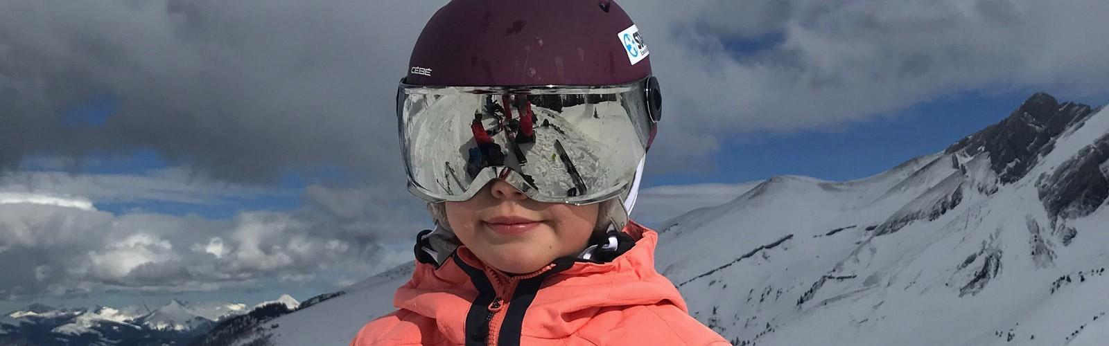 Masques ski bébé et enfant