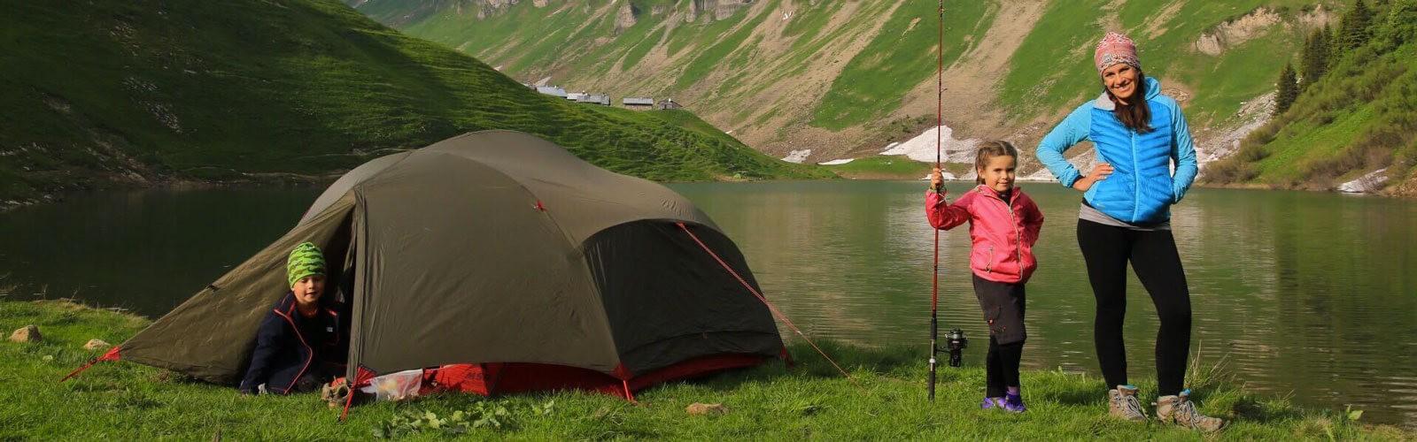Tente de randonnée légère
