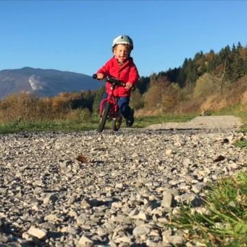 Un vélo sans pédales, quelle (bonne) idée ! 😀  ⚡ La draisienne est un super engin facile à prendre en main que les petits qui n'ont pas l'âge d'être sur un vélo adorent ! Ils peuvent filer à toute allure 💨 et s'amuser comme des fous !  Mais ce n'est pas le seul intérêt de la draisienne ☝🤓️ ✔ Développe l'équilibre ✔ Permet de passer facilement au vélo sans petites roues ✔ Donne confiance en soi...  👉 Et d'autres avantages dont on vous parle sur le blog !!  (Lien dans la bio sur @lespetitsbaroudeurs )   #draisienne #balancebike #fun #outdoor #kids #puky #rebelkids #strider #nature #jouerdehors #petitsbaroudeurs