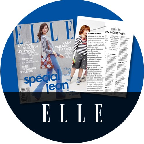 Les Petits Baroudeurs - Elle Magazine
